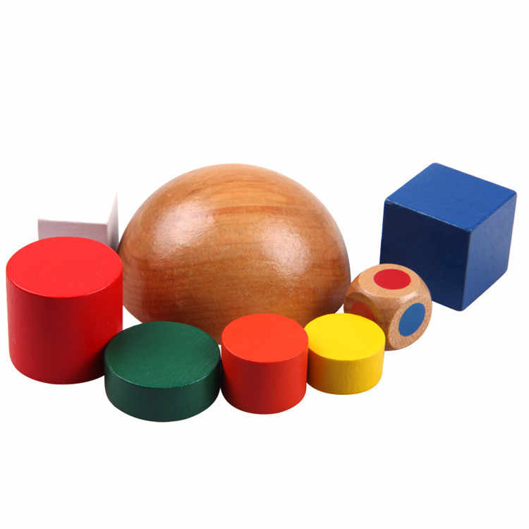 Bằng Gỗ Nhiều Màu Sắc Cầu Vồng Khối Cho Trẻ Em Brinquedos Madeira Speelgoed Hout Học Tài Nguyên Học Giáo Dục Trẻ Em Quà Tặng