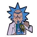 Сумасшедший ученый Рик пин из мультипликационного ТВ-шоу humor
