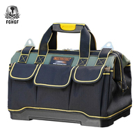 FGHGF high quality Portable Tool Bag Electrician Tools Carpentry Hardware Repair Storage Organizers Box Work Spanner Toolbox