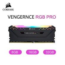 Corsair Vengeance Rgb Pro 8Gb 16Gb 32Gb DDR4 3000 3200 3600Mhz Led Desktop Geheugen-Zwart
