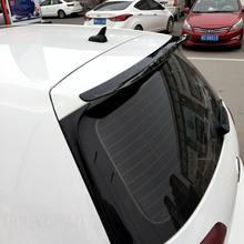 Spoiler traseiro do telhado do carro de epfbsqp para volkswagen golf 7 mk7/7.5 vii gti r rline 2014-2019 janela spoiler abs asa da cauda preta
