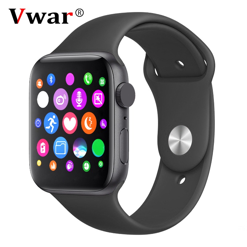 IWO 2020 Smart Watch With SIRI 44mm 1:1 Watch For Apple Heart Rate Men Women Dial Answer Call Smartwatch PK IWO12 IWO 12 14 8 11