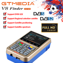 GTmedia satlink satellite finder meter v8 finder DVB-S2/S2X FTA digital satlink satfinder satlink ws6933 brasil brazil warehouse все цены