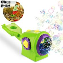 Automatic Water Blowing Toys Bubble Soap Bubble Blower Outdo