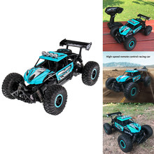 Racing RC Car USB Rechargeable Kids Anti Slip Outdoor PVC Anti-collision 2WD Gift Toy Crawler 2.4G(China)