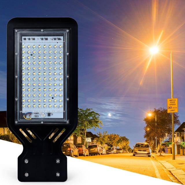 Outdoor Street Light Wall Waterproof IP65 100W  Industrial Garden Square Highway thin LED Road lamp modern lighting AC 110V 220V 4