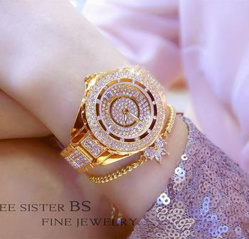 BS new hot-sale watch waterproof imported movement high-end custom full diamond female FA0917L