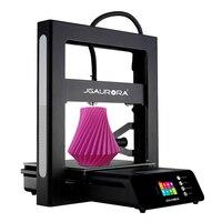 JGAURORA 3D Drucker Impresora 3d A5S Hohe Genauigkeit Druck Motoren Magnetische Bauen Platte Power off Lebenslauf Druck-in 3-D-Drucker aus Computer und Büro bei