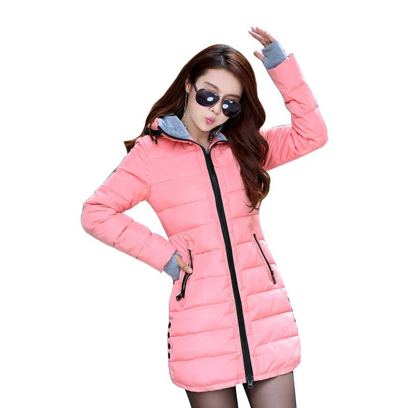 2020 watowana kurtka kobiet kurtka zimowa kobiety puchowe bawełniane kurtki parki slim płaszcz damski kobiet watowe Jaqueta Feminina TP0514