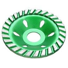 1 шт. 4 дюйма бетонный, Алмазный колеса зеленый DIY шлифовальный диск для Резка Мрамора Гранита Керамика