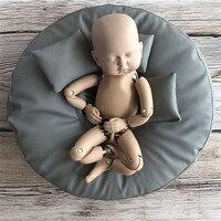 Студийный Beanbag для новорожденных; Beanbag Flling; реквизит для фотосъемки; 50x50x20 см; кожаный водонепроницаемый Beanbag; позирующий Beanbag для детей; рекви...