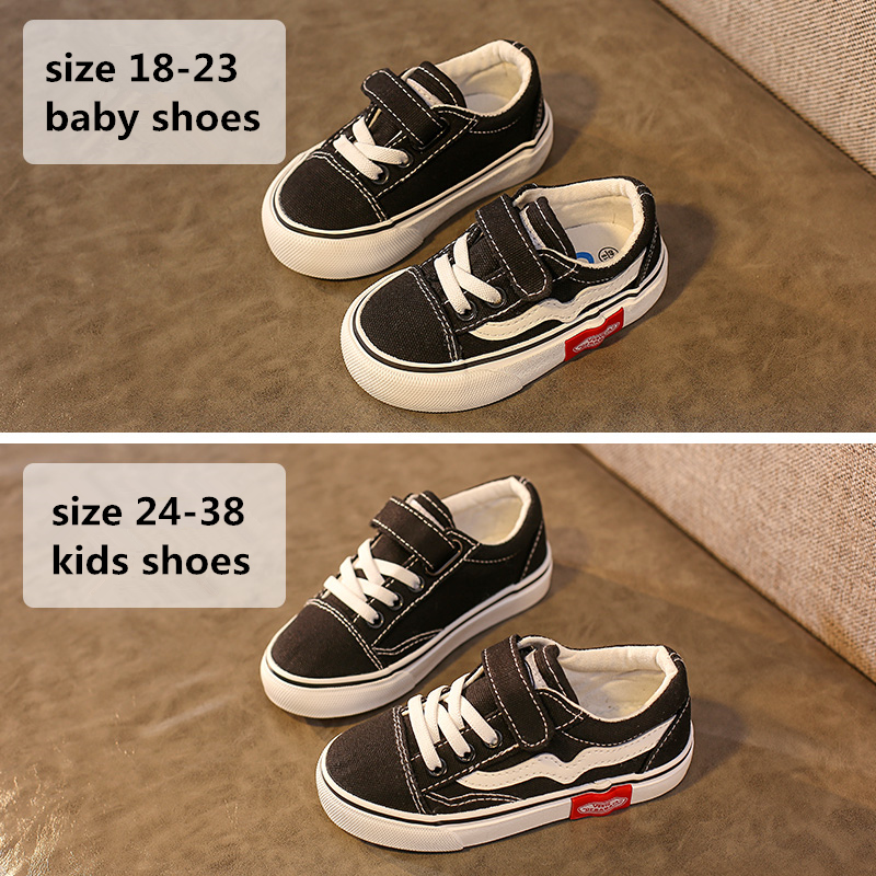 Babaya Baby Shoes Soft Bottom Boy Casual Shoes 1-12 Years Old 2021 Autumn Children Canvas Shoes Kids Girls Walking Shoes Toddler 6