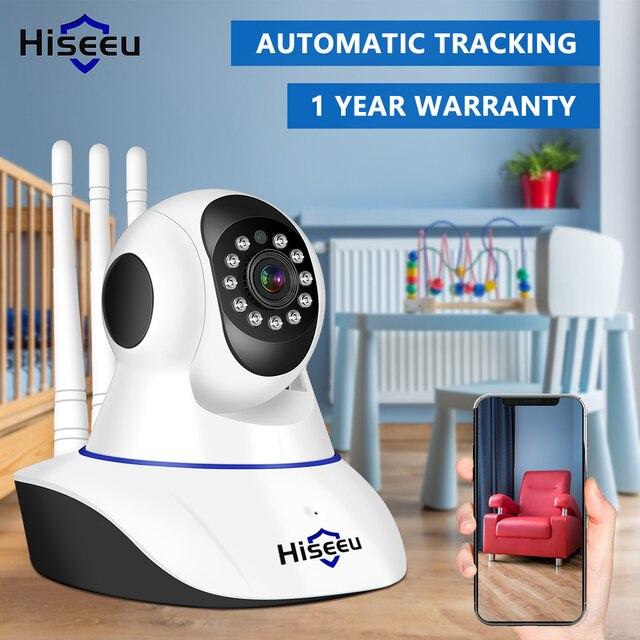 Hiseeu 1536P 1080P IP Camera WIFI Wireless Smart Home Security Camera Surveillance 2-Way Audio CCTV Pet Camera 720P Baby Monitor 6