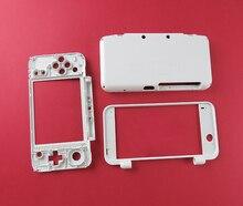 לבן צבע החלפת מעטפת שיכון התיכון פלסטיק מסגרת עבור חדש 2DSXL עבור חדש 2 3DSLL מקרה פגז C חלק