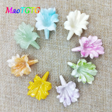 Colorful Coral Leaf Beads For Jewelry Making Necklace Bracelet Brooch Accessories Multi-color Coral Beads Wholesale недорого