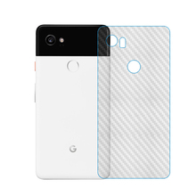 5 pcs/lot For Google Phone Pixel 2 3 XL 3a 2XL 3XL 4 4XL Carbon Fiber Soft Back Screen Protector Sticker Film label