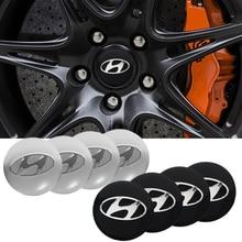 4 pçs centro da roda do carro hub tampas emblema adesivos para hyundai i10 i20 i30 i40 ix20 ix35 tucson solaris acento azera elantra gdi