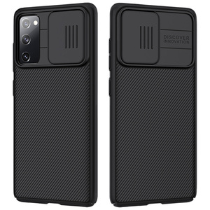 Image 2 - NILLKIN Slide Camera Lens Protection Cases For Samsung S20 FE S21 Ultra Plus Note 20 Ultra A51 A71 M31S M51 Slide Protect Cover