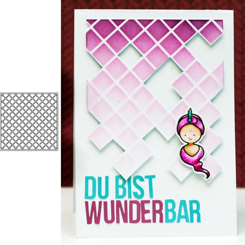 Background Plastic Spray Layering Stencils Scrapbook Album Decor Drawing Sheets