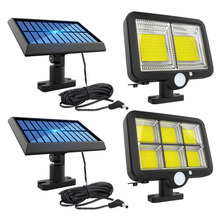 Waterproof LED Solar Wall Light Motion Sensor Yard Street Security Lamp Outdoor Solar Lamp PIR Motion Sensor Wall Light