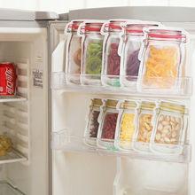 Faroot Reusable Seal Silicone Food Fresh Bag Vacuum Sealer Fruit Meat Milk Storage can be used for Snacks