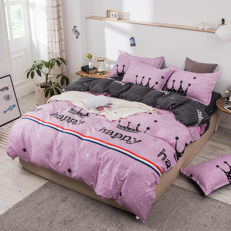 3PCS Bedding Set For Room Modern Pastoral Style Duvet Cover Sets With Shams/Pillowcases Soft Bed Linens Size Full/Queen/King