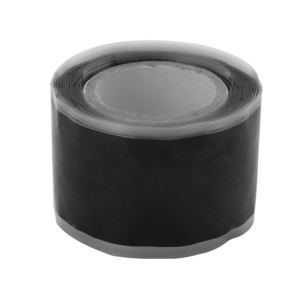 Силиконовая Водонепроницаемая лента для ремонта, склеивающая спасательная самосплавляющаяся проволочная лента, черная прозрачная пленочная лента, клейкая лента, Лидер продаж - Цвет: Черный