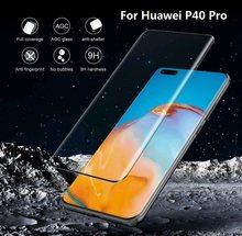 2020 Новинка 3D изогнутое закаленное стекло для Huawei P40 Pro защита для экрана полное покрытие HD Переднее стекло пленка для Huawei P40Pro безопасность