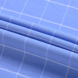 Image 5 - Mannen Mode 100% Katoen Oxford Plaid Gestreepte Shirts Enkele Patch Pocket Lange Mouw Standaard Fit Bovenkleding Casual Werk shirt