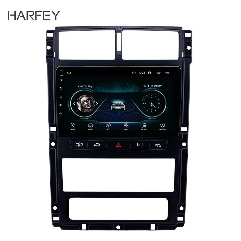 Harfey Auto 9 Navi Android 8.1 Auto Radio Gps Head Unit Voor Peugeot 405 Audio Navi Autostereo Ondersteuning Carplay achteruitrijcamera OBD2