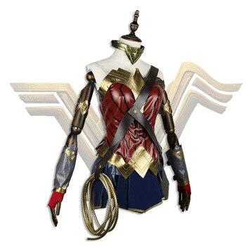 Disfraz de Halloween, carnaval, mujer adulta, para teatro de escenario, disfraz de Wonder Woman
