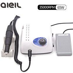 Starke 210 105L Elektrische Nagel Bohrer 102L/105L Handstück Maschine für Maniküre Maschine Elektrische Nagel Bohrer Maniküre Set Nagel kunst