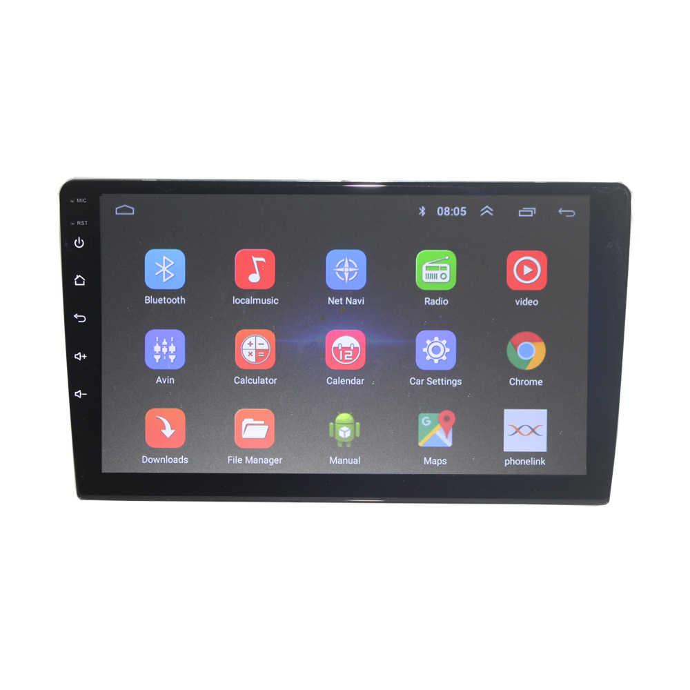 Android 9,1 4G интернет wifi 2 din автомобильное радио для универсального автомобиля Автомобильный приемник с dvd-проигрывателем Автомобильный Аудио Стерео Авторадио 2G 32G