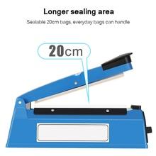 Sealing-Machine Heat-Manual-Sealer Electric Food-Vacuum Household Portable 220V Automatic