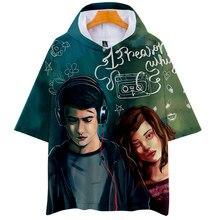 Gedruckt 13 Gründe Warum T-Shirt Hoodies Frauen/Männer kurzarm Mit Kapuze Sweatshirts 2019 Heißer Verkauf Casual Trendy Streetwear T hemd