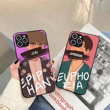 pepakomi Bts Perfect black Phone Case For iphone 5s 6 7 8 11 12 plus xsmax xr pro mini se Cover Fundas Coque