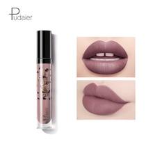 Matte Lipstick Pudaier Cosmetics Lip Makeup Tint Lip Long-Lasting Waterproof Semi