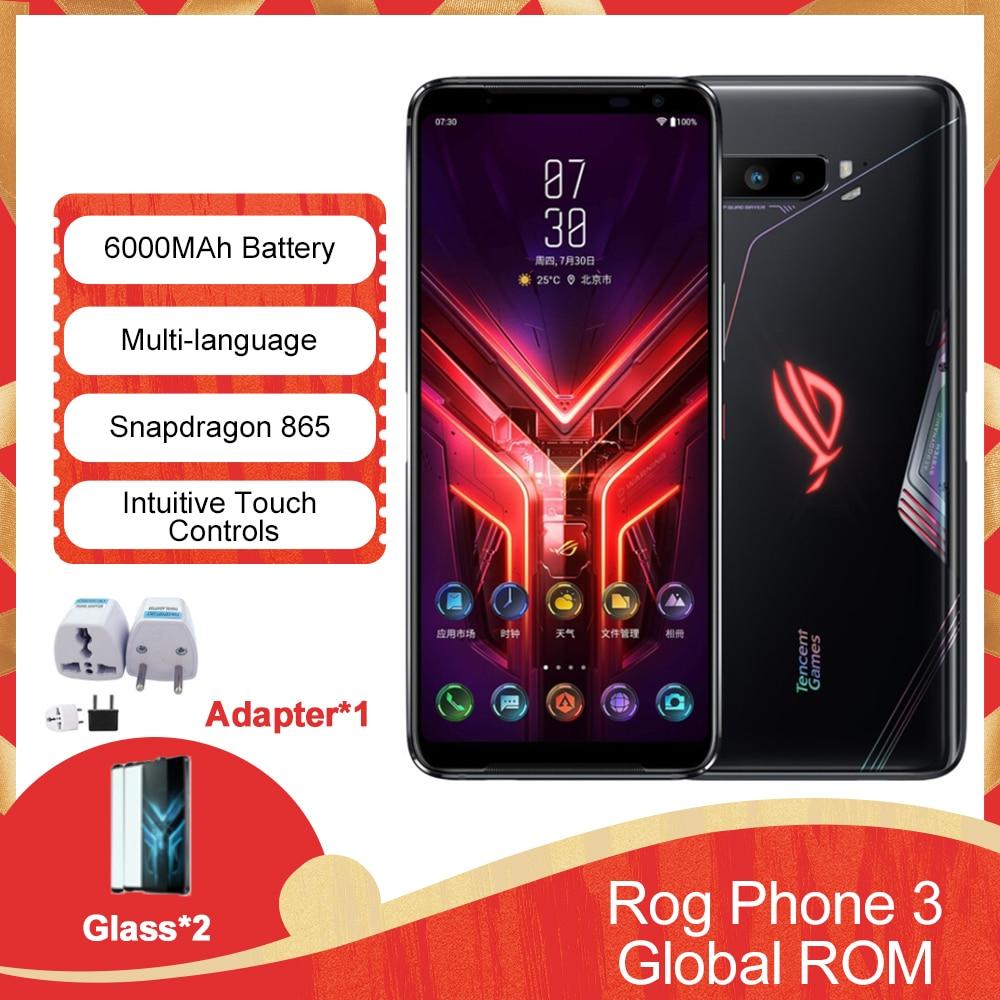 "2020 New ASUS ROG Phone 3 6.59 ""12/16GB RAM 128/256/512GB ROM Snapdragon 865/865 Plus 6000mAh 144HZ FHD+ AMOLED 5G Gaming Phone|Cellphones| - AliExpress"
