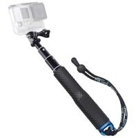 """Selfie Stick 19 """"Wasserdichte Hand Grip Einstellbare Erweiterung Einbeinstativ Pole Für GoPro Hero 9 8 7 6 5 4 sitzung AKASO Xiaomi Yi SJCAM"""