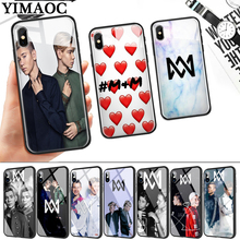 Marcus and Martinus Glass Phone Case for Apple iPhone 11 Pro XR X XS Max 6 6S 7 8 Plus 5 5S SE