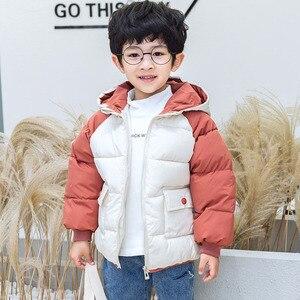 Image 5 - Benemaker מעיל החורף לילדים ילדה מעיילי סרבל פעוט סלעית מעיל בגדי תינוק מעיל רוח ילד הלבשה עליונה YJ116