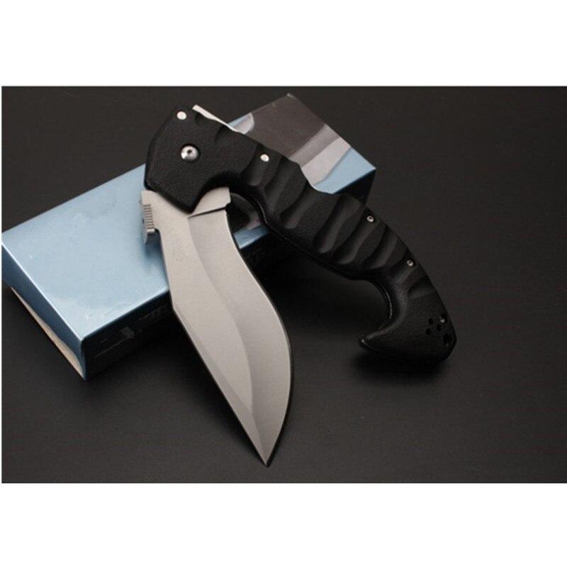 Качественный складной нож для выживания 440C, лезвие из нержавеющей стали, ручка ABS, тактические походные охотничьи ножи, инструмент для повсе