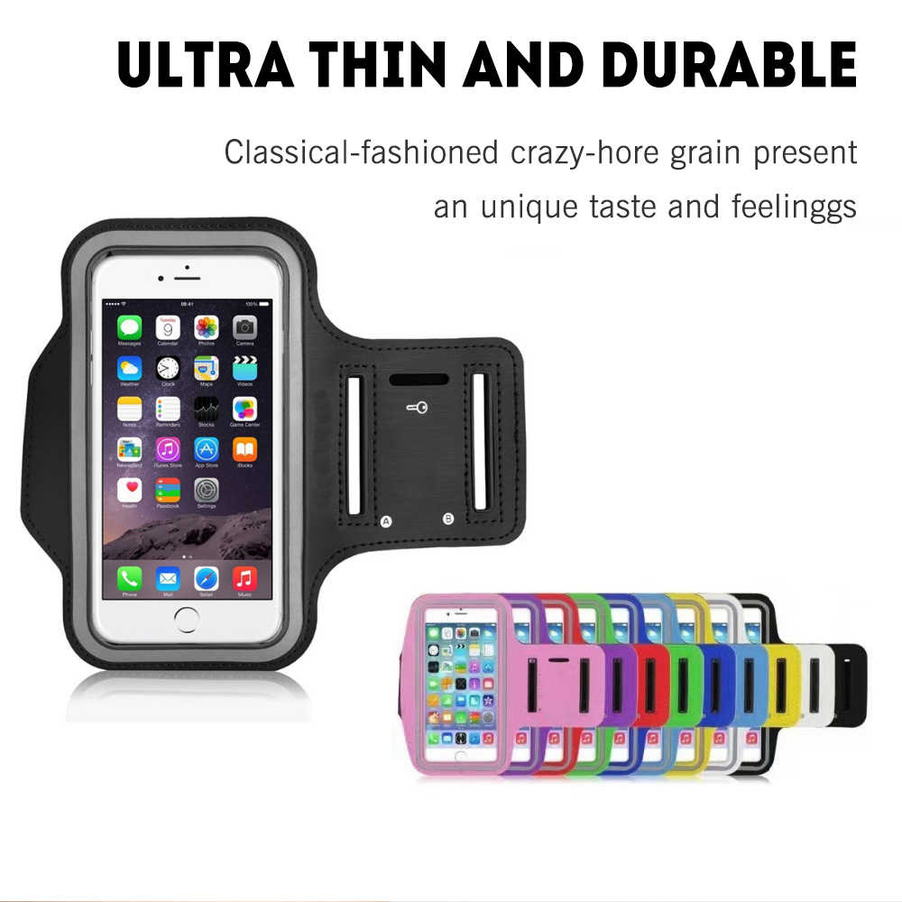 Универсальный спортивный нарукавный чехол для телефона s для IPhone 6, 7, 8, x, 6s Plus, чехол для samsung, нарукавная повязка, чехол для ремня, сумка для бега, тренажерного зала, 5,5 дюймов