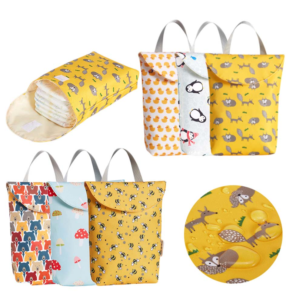 2019 Multifunctional Baby Diaper Bags Reusable Fashion Waterproof Diaper Organizer Portable Big Capacity Mummy Bag Wholesale