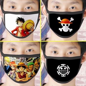 Mascarillas con varios estamapdos de One Piece Mascarillas de Anime Mascarillas de One piece Merchandising de One Piece