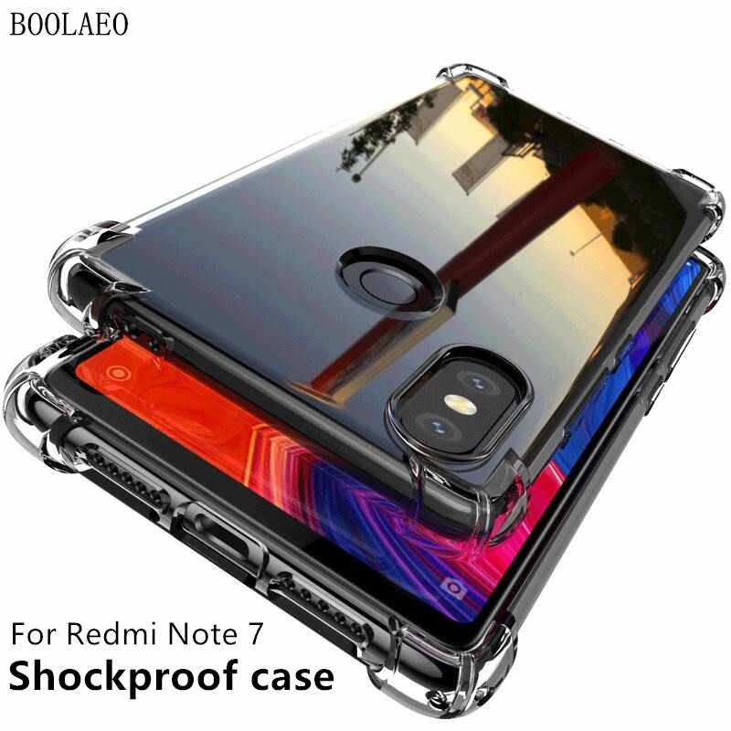 Voor Xiao mi rode Mi note 7a 8 case cover Silicone Soft Shockproof red Mi Note 7 8 Pro transparant beschermende voor Xiao mi mi 9 9t case