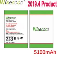WISECOCO 5100mAh C11P1501 Battery For Asus Zenfone 2 Laser Zenfone2 Laser ZE601KL Selfie ZE550KL ZE600KL ZD551KL Mobile Phone чехол для asus zenfone 2 laser ze601kl asus view flip золотистый
