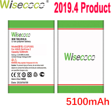 WISECOCO 5100mAh C11P1501 Battery For Asus Zenfone 2 Laser Zenfone2 Laser ZE601KL Selfie ZE550KL ZE600KL ZD551KL Mobile Phone цена и фото