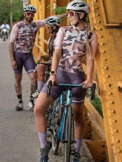 2020 pro kafitt triathlon terno feminino preto camisa de ciclismo skinsuit maillot ciclismo ropa conjunto manga longa 9d 3