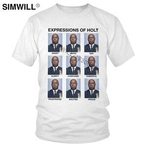 Urban Fashion Expressions Of Holt Tee Short Sleeved Brooklyn Nine Nine T Shirt Men NY 99 Tshirt TV T-shirt Fan Gift Merchandise